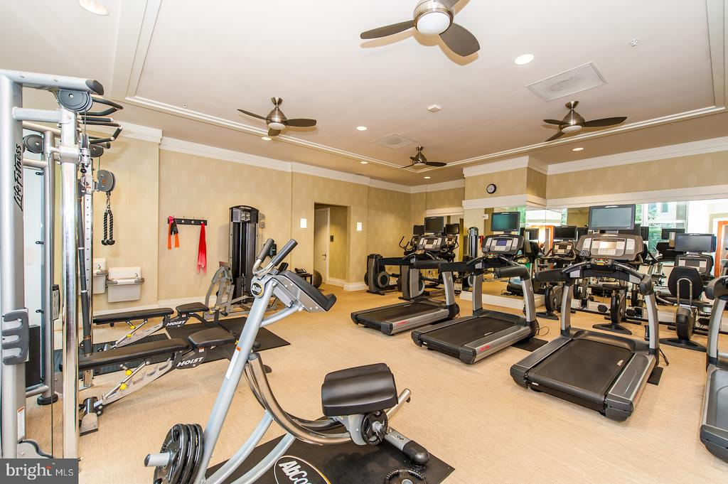 Fitness Center - 8220 CRESTWOOD HEIGHTS DR #514, MCLEAN