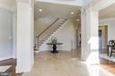 Two-Story Foyer - 16323 HUNTER PL, LEESBURG