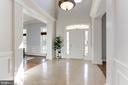 Light Filled Foyer - 16323 HUNTER PL, LEESBURG