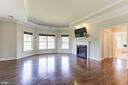 Owner's Suite with Tray Ceilings and Fireplace - 16323 HUNTER PL, LEESBURG