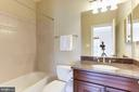 Bedroom #3 Bath - 16323 HUNTER PL, LEESBURG