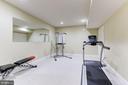 Lower Level Exercise Room - 16323 HUNTER PL, LEESBURG