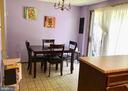 Dining Area (comfortably seats 4 people) - 8173 WILLOWDALE CT, SPRINGFIELD