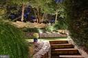 Landscape & Stonework Illuminated at Night! - 3216 N ABINGDON ST, ARLINGTON