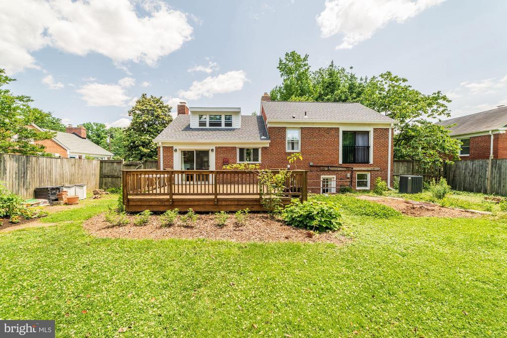 Exterior Rear - 6106 CLEARBROOK DR, SPRINGFIELD