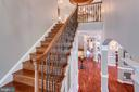 One of two Stairways - 40947 GRENATA PRESERVE PL, LEESBURG