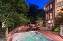Brick knee walls & lighting - 40947 GRENATA PRESERVE PL, LEESBURG