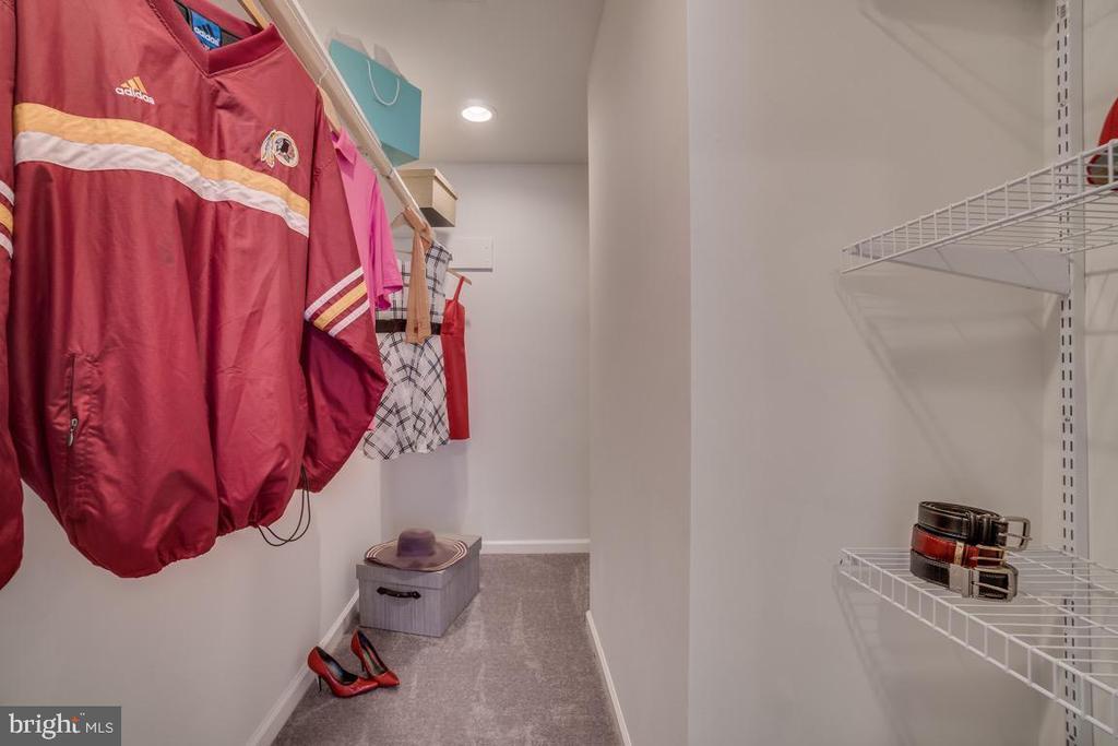 Master Bedroom's Walk In Closet - 5356 E ST SE, WASHINGTON