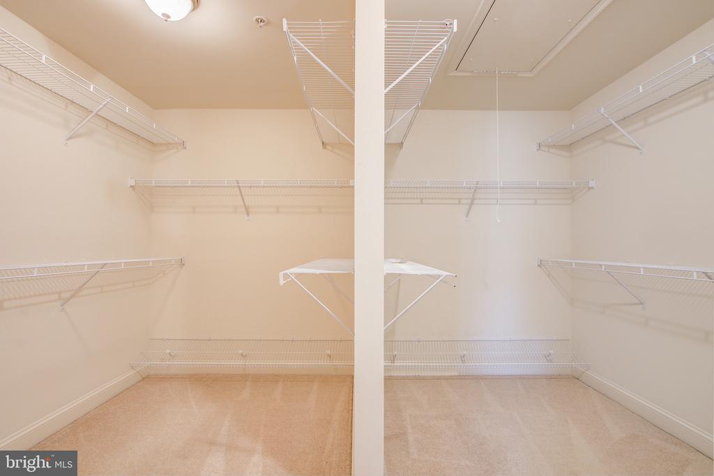 Master Bedroom Walk-In Closet - 15530 GERMANTOWN RD, GERMANTOWN