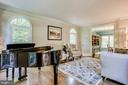 Sun-filled living room - 1298 STAMFORD WAY, RESTON