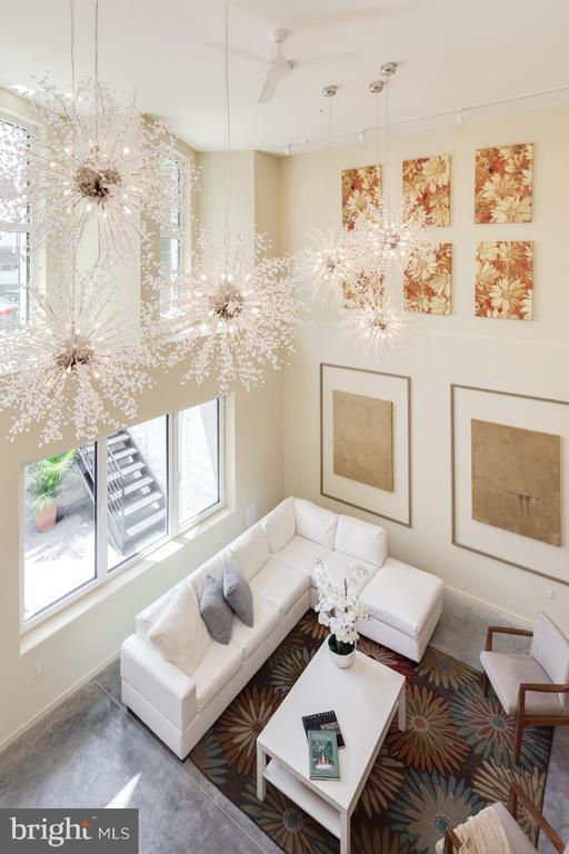 Dramatic double height ceilings - 525 MONTANA AVE NE #B, WASHINGTON