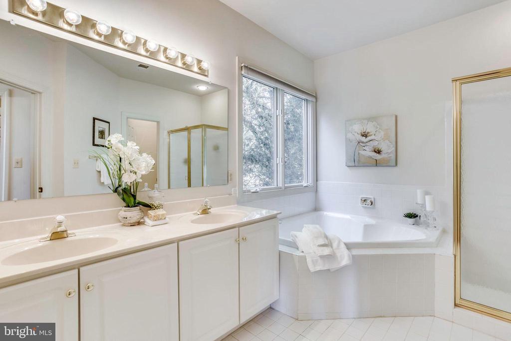 Main Level Master Bathroom - 11121 TOMMYE LN, RESTON