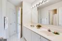 Jack and Jill Bathroom - 11121 TOMMYE LN, RESTON