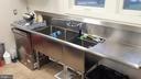 Commercial grade kitchen - 3521 BUCKEYSTOWN PIKE, BUCKEYSTOWN