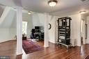 Upper level -  perfect spot for an in-home office - 11019 KENILWORTH AVE, GARRETT PARK