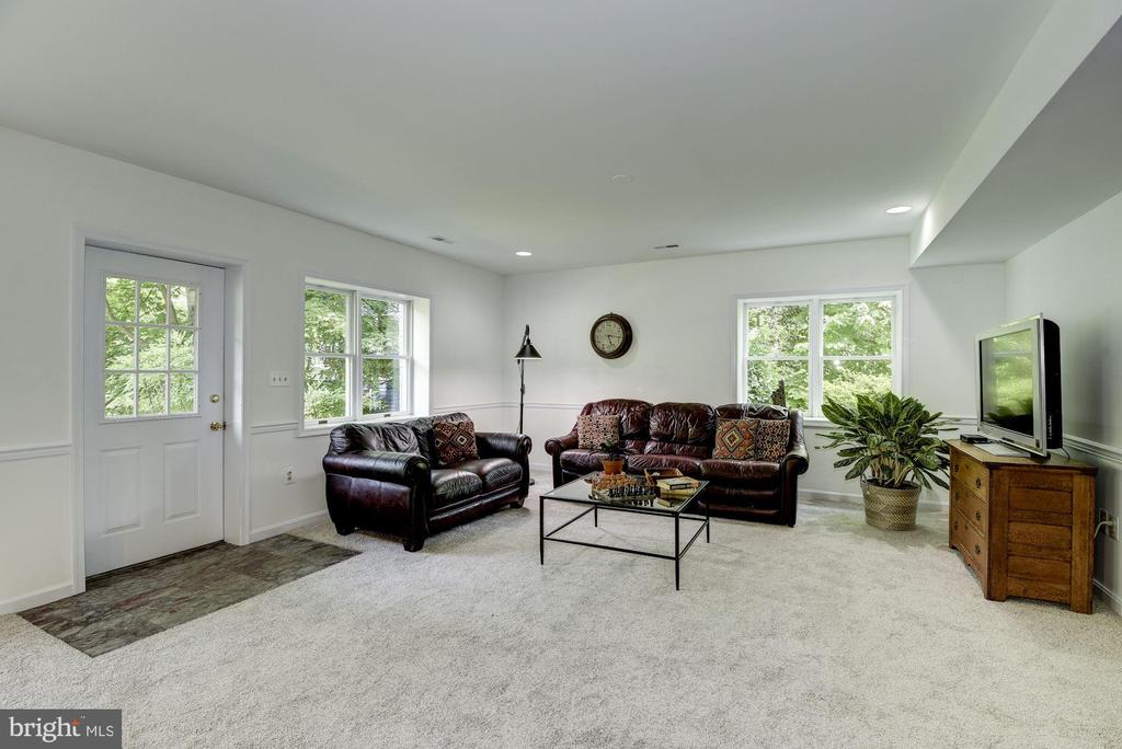 Walk-out from lower level rec room/family room - 11019 KENILWORTH AVE, GARRETT PARK