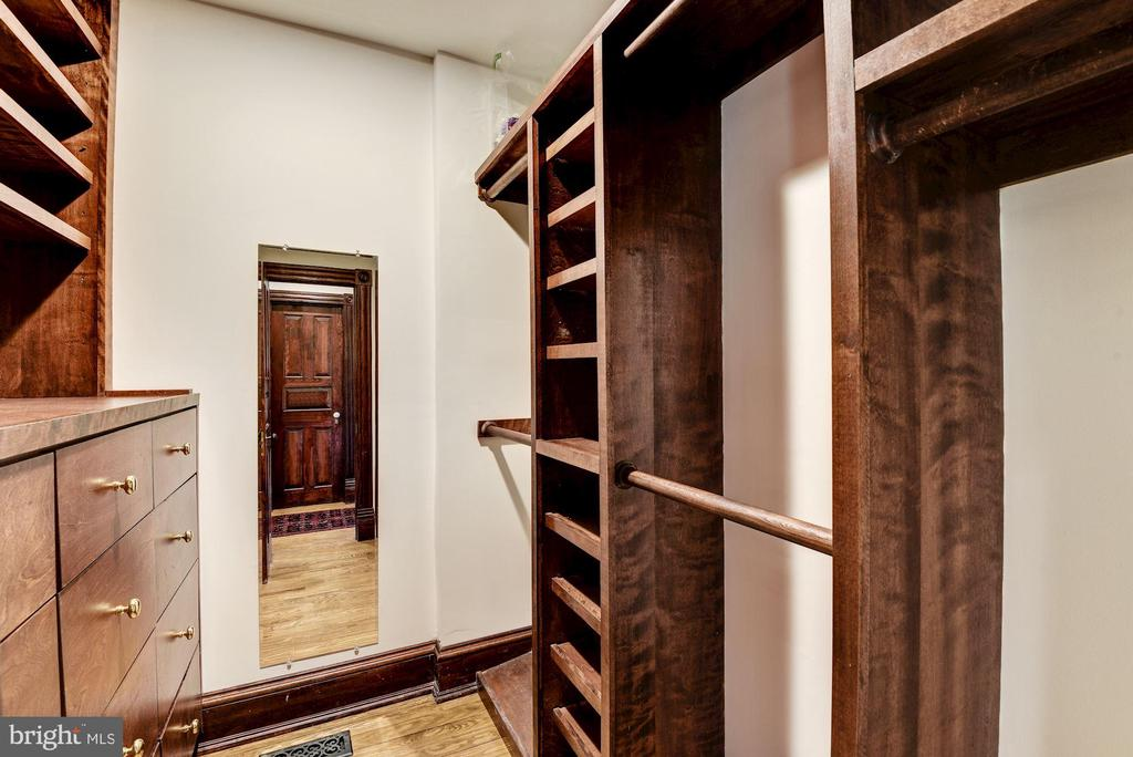 One of several walk-in closets for Master Suite - 11019 KENILWORTH AVE, GARRETT PARK