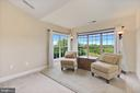 sitting room in Master bedroom to enjoy the views - 8823 BARN OWL CT, GAINESVILLE