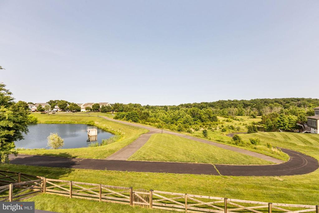 Gorgeous views from the back deck! - 8823 BARN OWL CT, GAINESVILLE