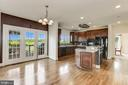 large kitchen with breakfast nook - 8823 BARN OWL CT, GAINESVILLE