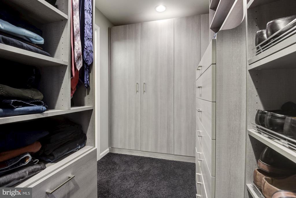 Master Suite Custom Walk-In Closet - 905 N HOWARD ST, ALEXANDRIA