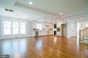 Open floorplan will be defined with island - 2320 N VERNON ST, ARLINGTON