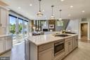 Fully remodeled kitchen - 43483 FIRESTONE PL, LEESBURG