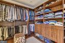 Master Bedroom Closet - 43483 FIRESTONE PL, LEESBURG