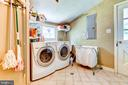 Spacious laundry room. W/D to convey - 9587 BRONTE DR, BURKE