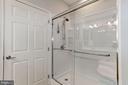 Newly updated Master Shower - 7250 DARBY DOWNS #J, ELKRIDGE