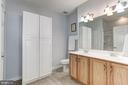 Dual Vanity- Master Bath - 7250 DARBY DOWNS #J, ELKRIDGE