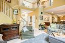 Family room opens to Kitchen - 25 SMITH LAKE DR, STAFFORD