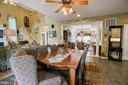 Extra large table space in kitchen - 25 SMITH LAKE DR, STAFFORD