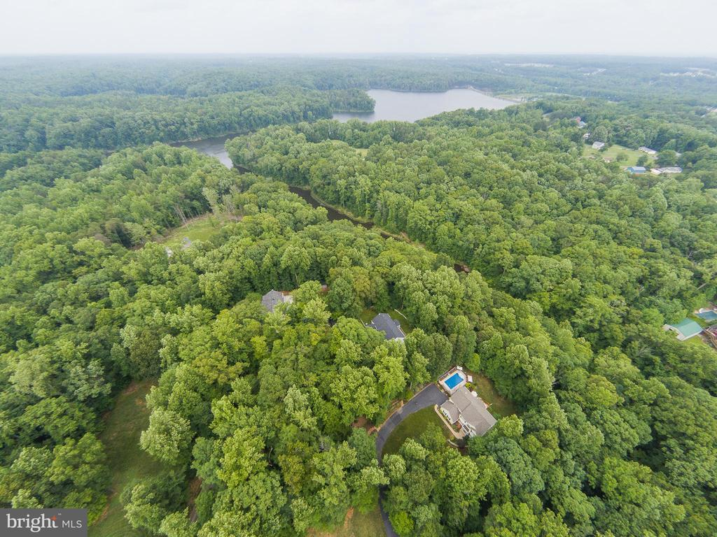 Aerial view - 25 SMITH LAKE DR, STAFFORD