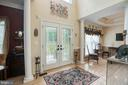 Check out these beautiful glass doors. - 25 SMITH LAKE DR, STAFFORD