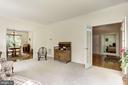 Living Room with French Doors - 21099 RAINTREE CT, ASHBURN