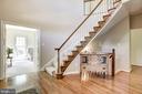 Beautiful Curved Staircase - 21099 RAINTREE CT, ASHBURN