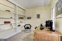 Office/Study off of Foyer with French Doors - 21099 RAINTREE CT, ASHBURN