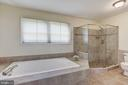 Updated Soaking Tub and Over-sized Shower - 21099 RAINTREE CT, ASHBURN