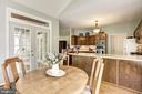 Breakfast Room off of kitchen - 21099 RAINTREE CT, ASHBURN