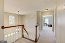 Bright Open Upstairs Hallway - 21099 RAINTREE CT, ASHBURN