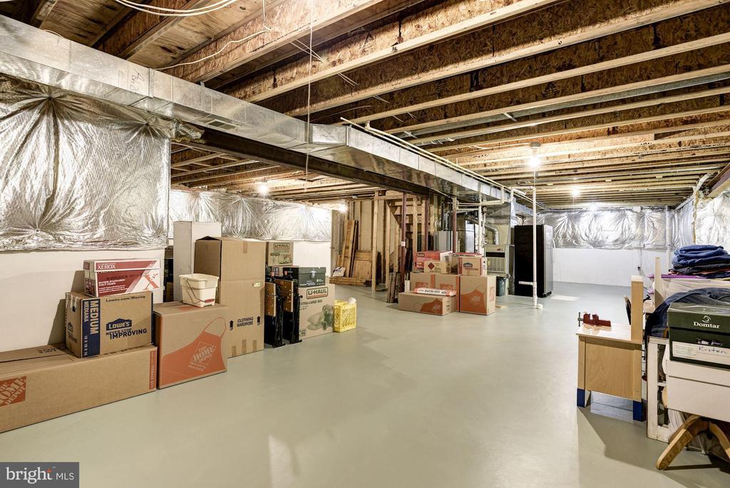 Tons of Storage in Basement - 21099 RAINTREE CT, ASHBURN