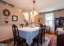 Dining Room - 11029 OLD ANNAPOLIS RD, FREDERICK