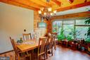 Dining room - 34876 PAXSON RD, ROUND HILL