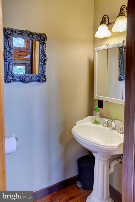 Main level powder room - 34876 PAXSON RD, ROUND HILL