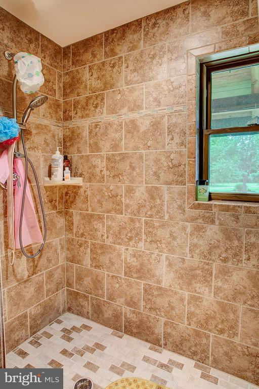 Master bedroom 2 has large walk in shower - 34876 PAXSON RD, ROUND HILL