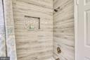 Beautiful tile shower - 4833 28TH ST S #A, ARLINGTON