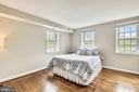 Spacious master bedroom - 4833 28TH ST S #A, ARLINGTON