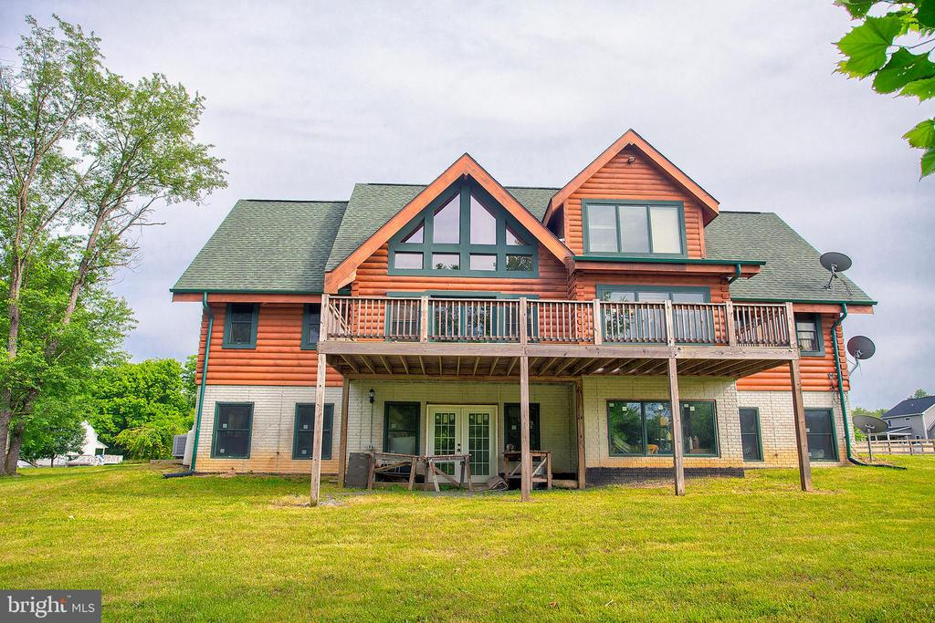 View of the back of the house - 34876 PAXSON RD, ROUND HILL