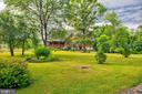 View from driveway - 34876 PAXSON RD, ROUND HILL